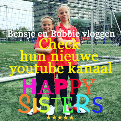 Bobbie-Kind-Bensje-Vlog-Youtube-happy-sisters